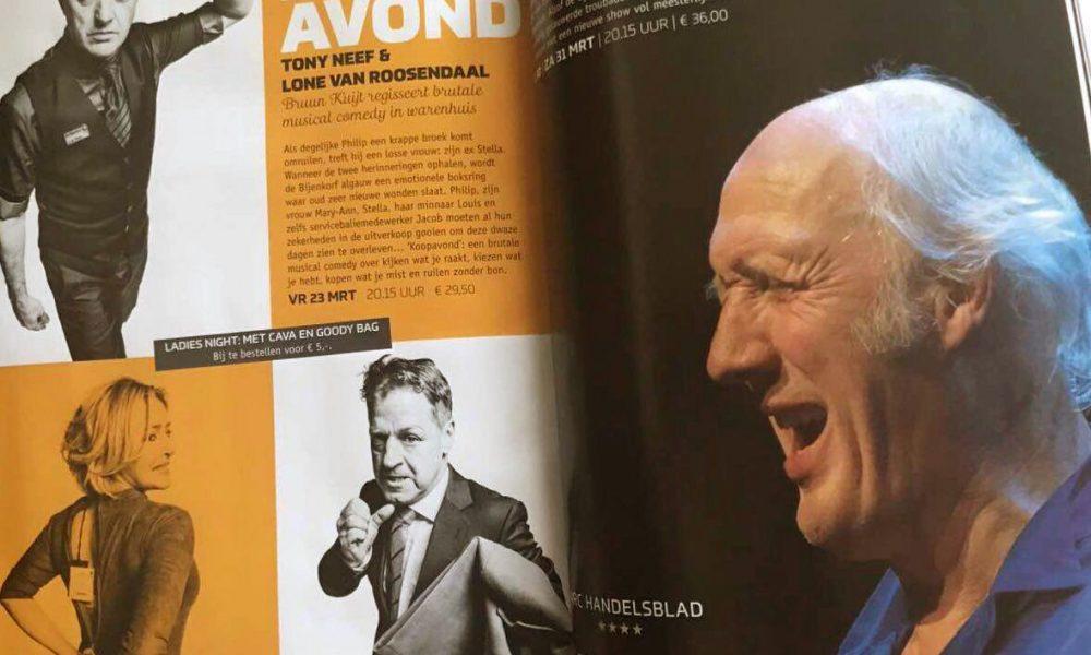 Musical comedy 'Koopavond' in heel Nederland te zien